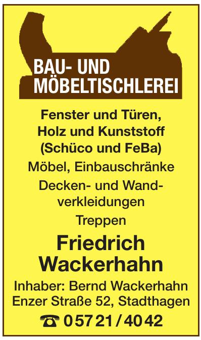 Friedrich Wackerhahn