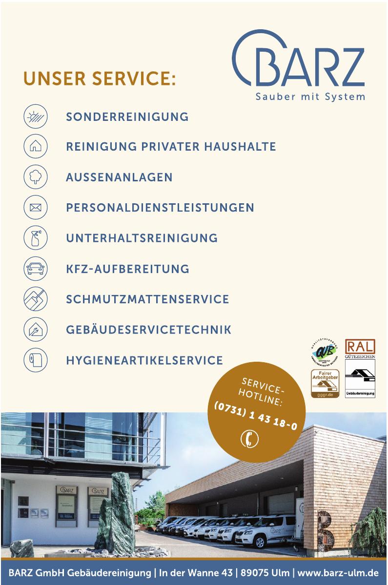 Barz GmbH Gebäudereinigung