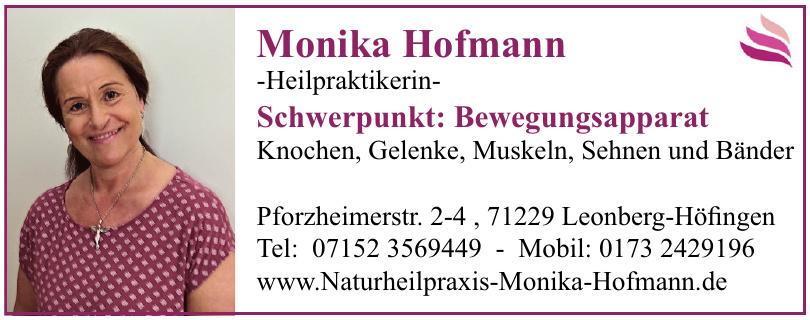 Monika Hofmann - Heilpraktikerin