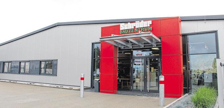Das neue Schröder Bauzentrum im Schwarzen Weg in Perleberg: der Baustoffhändler für Perleberg und Umgebung. FOTOS: MARINA LENTH