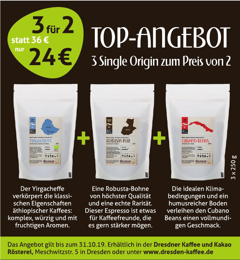 Dresdner Kaffee und Kakao Rösterei