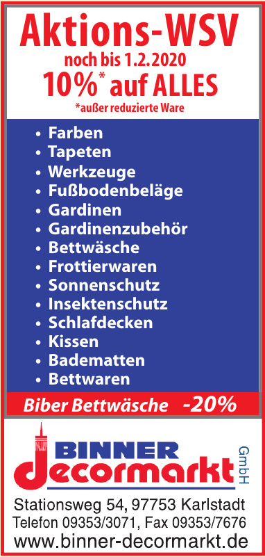 Binner Dekormarkt GmbH