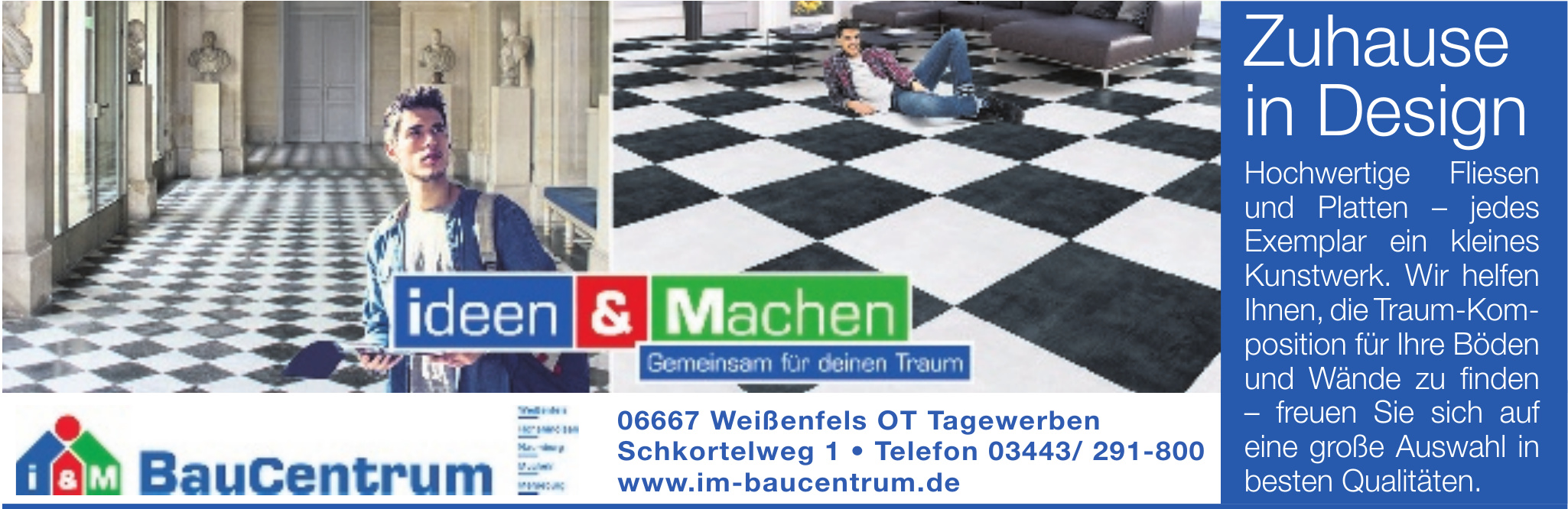 BauCentrum Weißenfels NL der RHG Schöneck e.G.