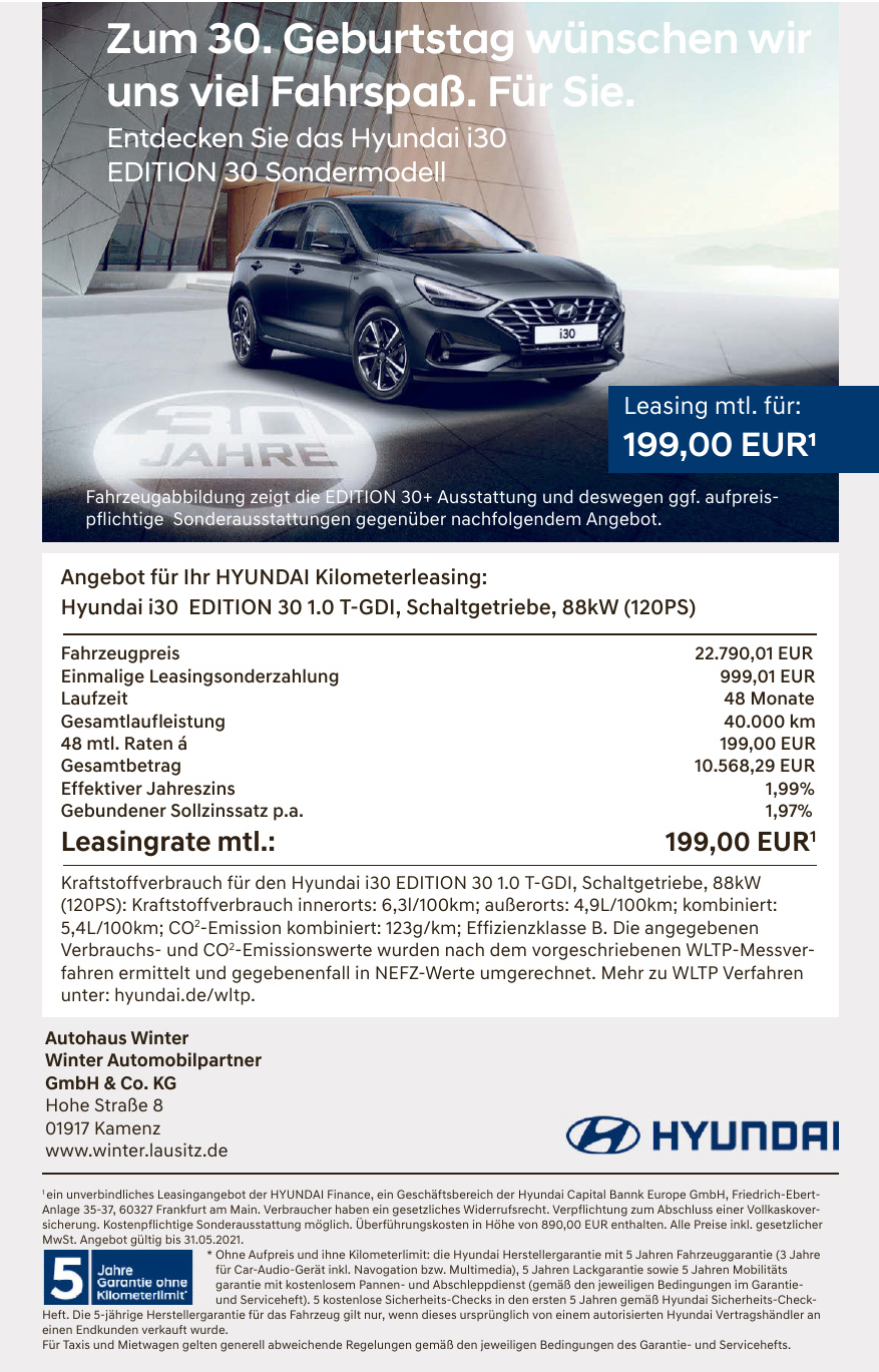 Autohaus Winter - Winter Automobilpartner GmbH & Co. KG