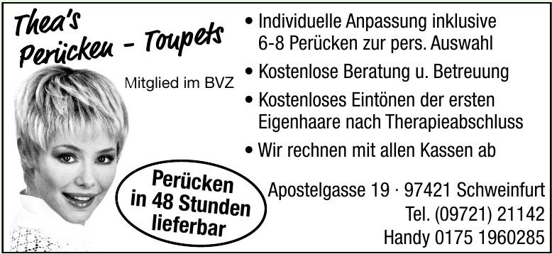 Thea's Perücken-Toupets