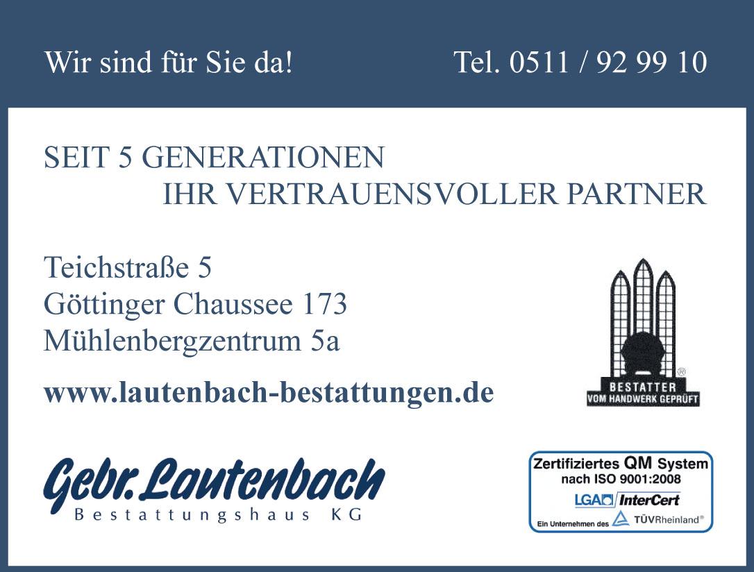 Gebr. Lautenbach Bestattungshaus KG