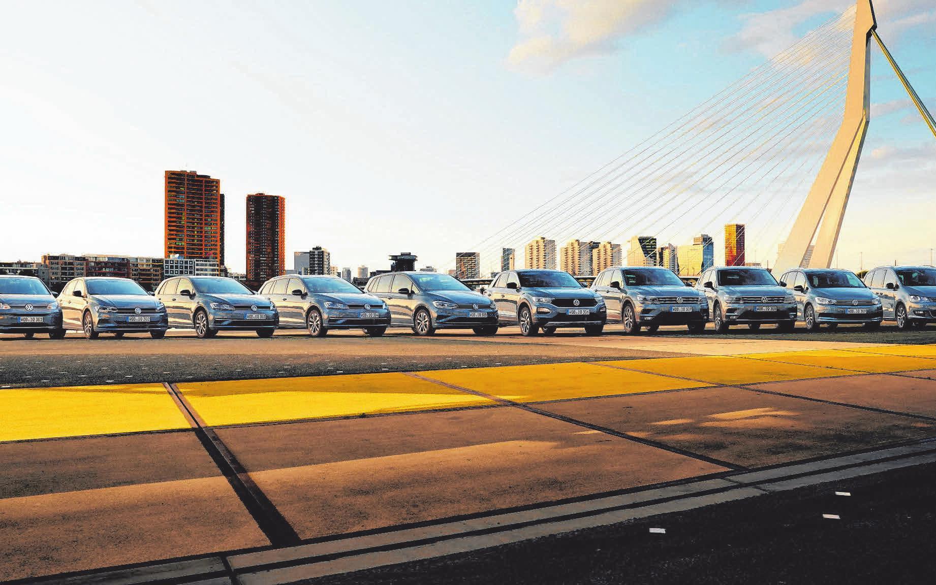 """Die Sondermodelle """"IQ. Drive"""" gibt' s im Autohaus Ehingen für alle VW-Modelle, außer für den Passat. FOTOS: OH"""