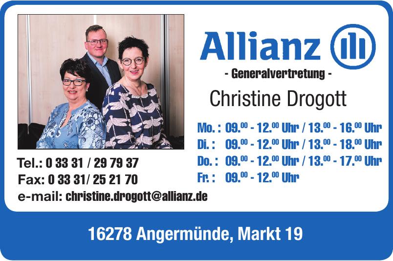 Allianz Generalvertretung Christine Drogott