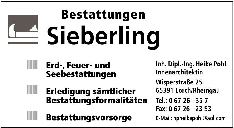 Bestattungen Sieberling