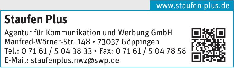 Staufen Plus Agentur für Kommunikation und Werbung GmbH