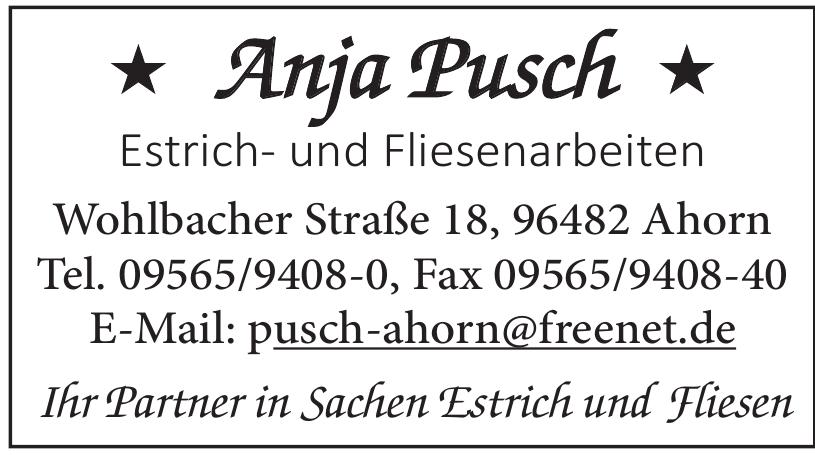 Anja Pusch Estrich- und Fliesenarbeiten