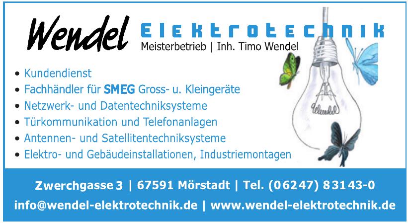 Wendel Elektrotechnik