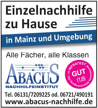 Abacus Nachhilfeinstitut