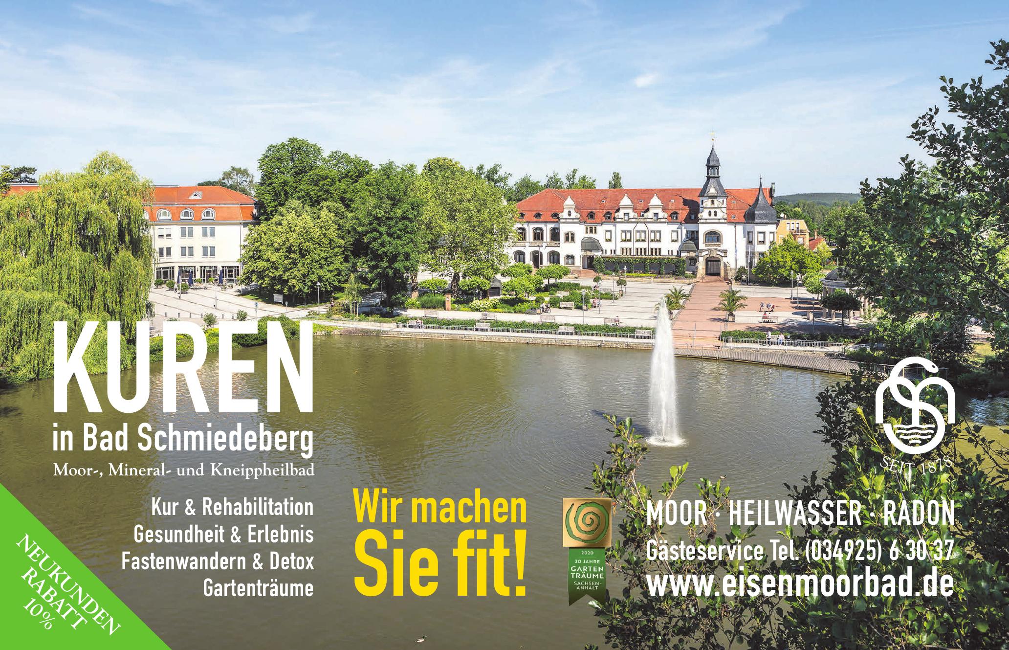 Kuren in Bad Schmiedeberg