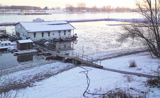 2009 trieben letztmals Eisschollen auf dem Rhein. Foto: Kuffner