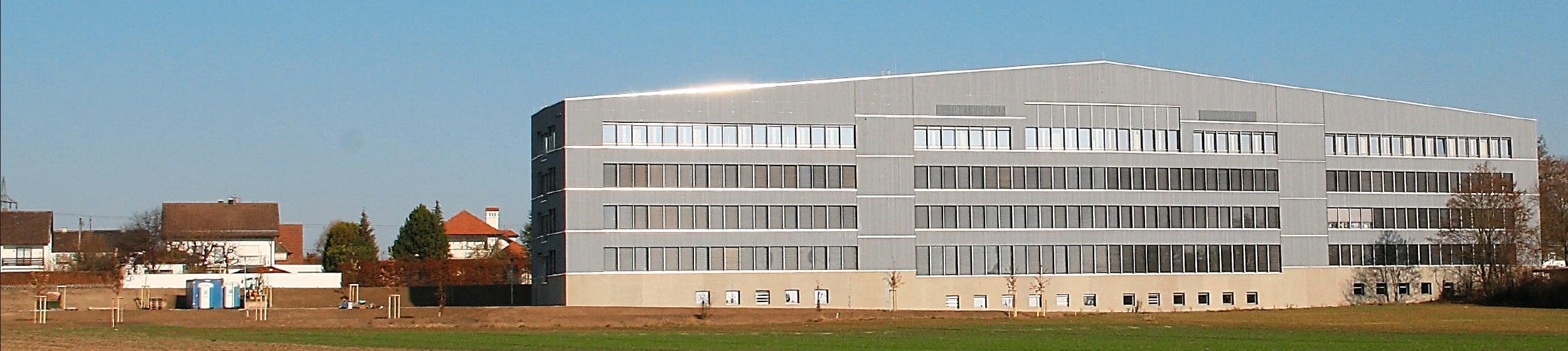 Ein imposantes Gebäude: Das neue Dienstleistungszentrum des Landratsamtes Eichstätt ist 100 Meter lang und vier Etagen hoch. Fotos: Landratsamt Eichstätt