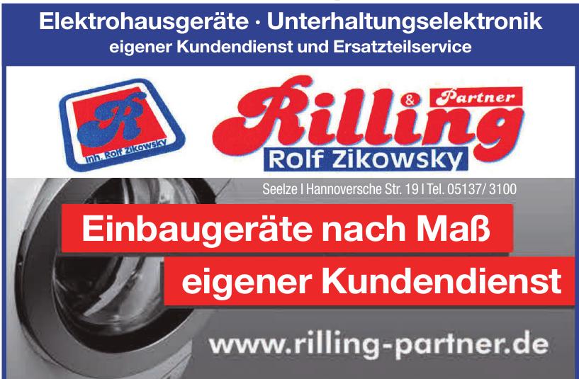 Rilling Rolf Zikowsky