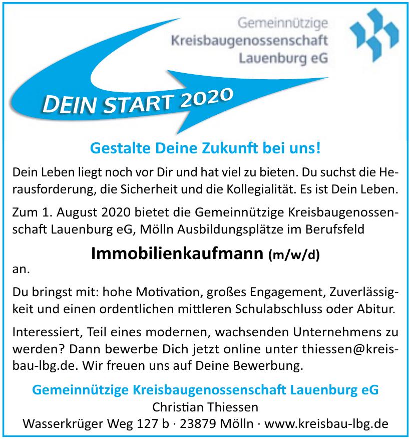 Gemeinnützige Kreisbaugenossenschaft Lauenburg eG
