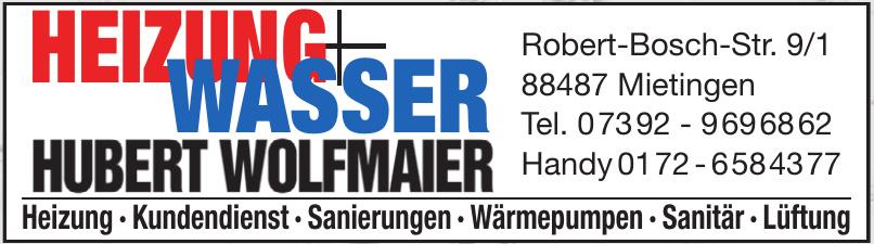 Heizwunagsser Hubert Wolfmaier