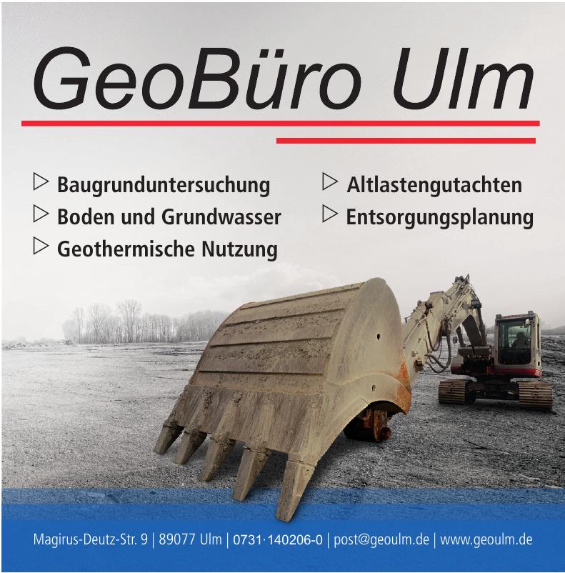 GeoBüro Ulm