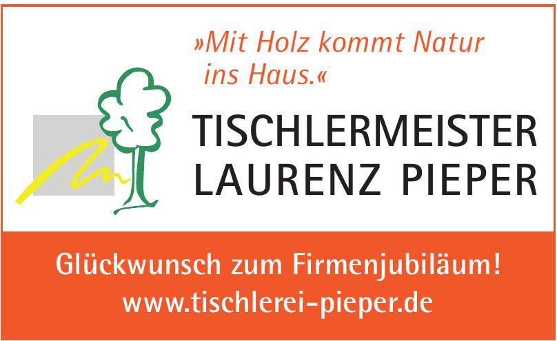 Tischlermeister Laurenz Pieper