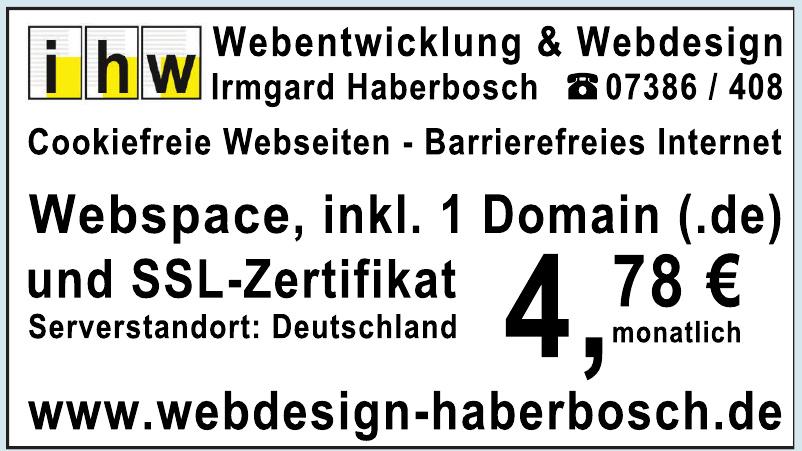 Webdesign Haberbosch