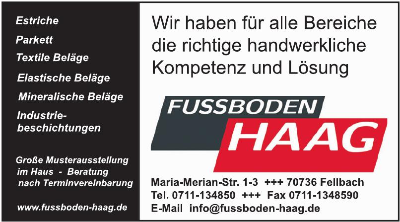 Fussboden Haag