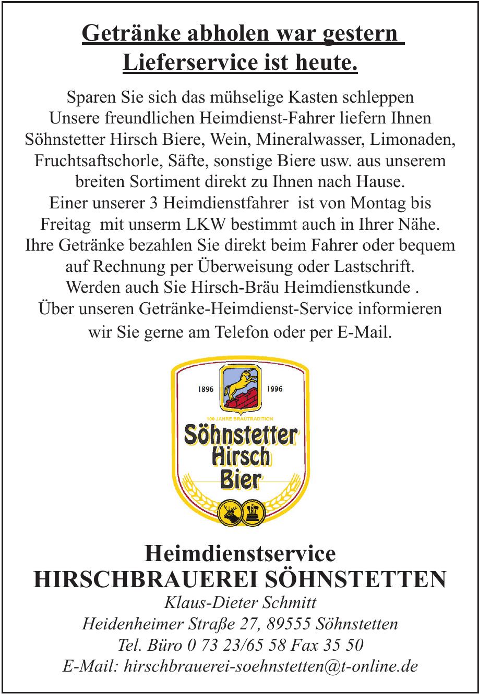 Hirschbrauerei Söhnstetten