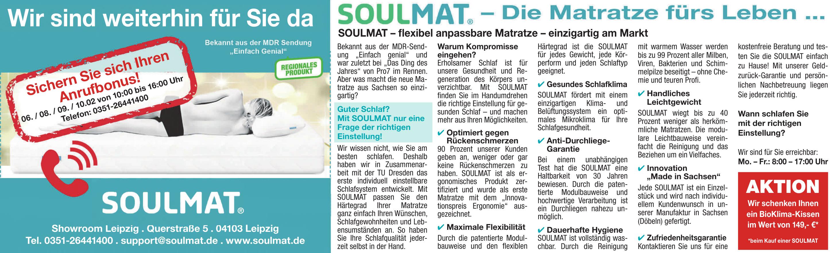 Soulmat - Showroom Leipzig
