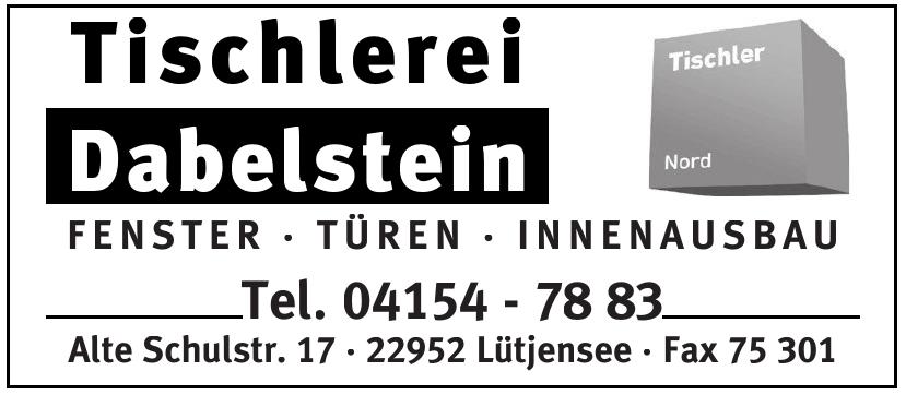 Tischlerei Dabelstein