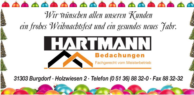 Hartmann Bedachungen