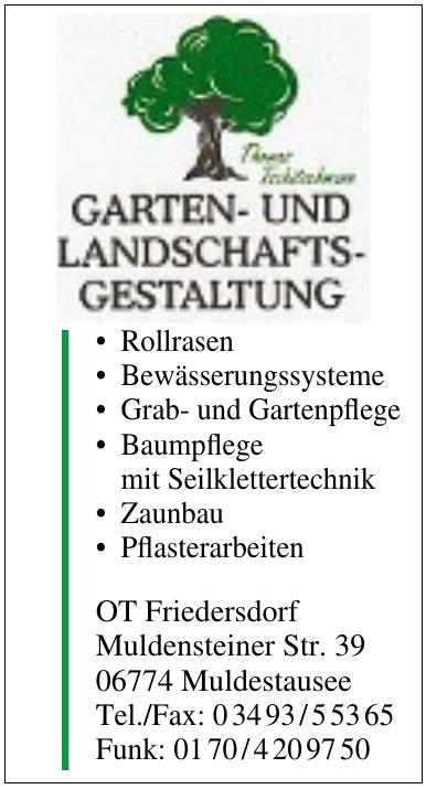 Garten- und Lanschaftsgestalltung