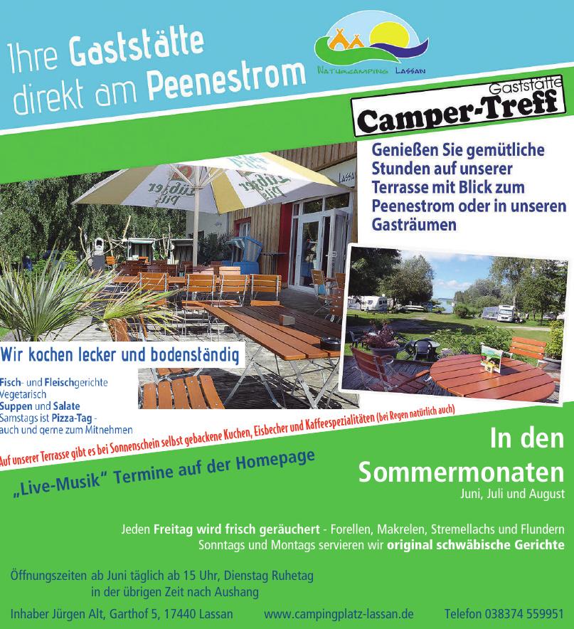 Campingplatz Lassan