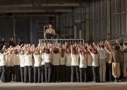 """Das Mössinger Bürgertheaterprojekt """"Ein Dorf im Widerstand"""" (2013, 2014)"""