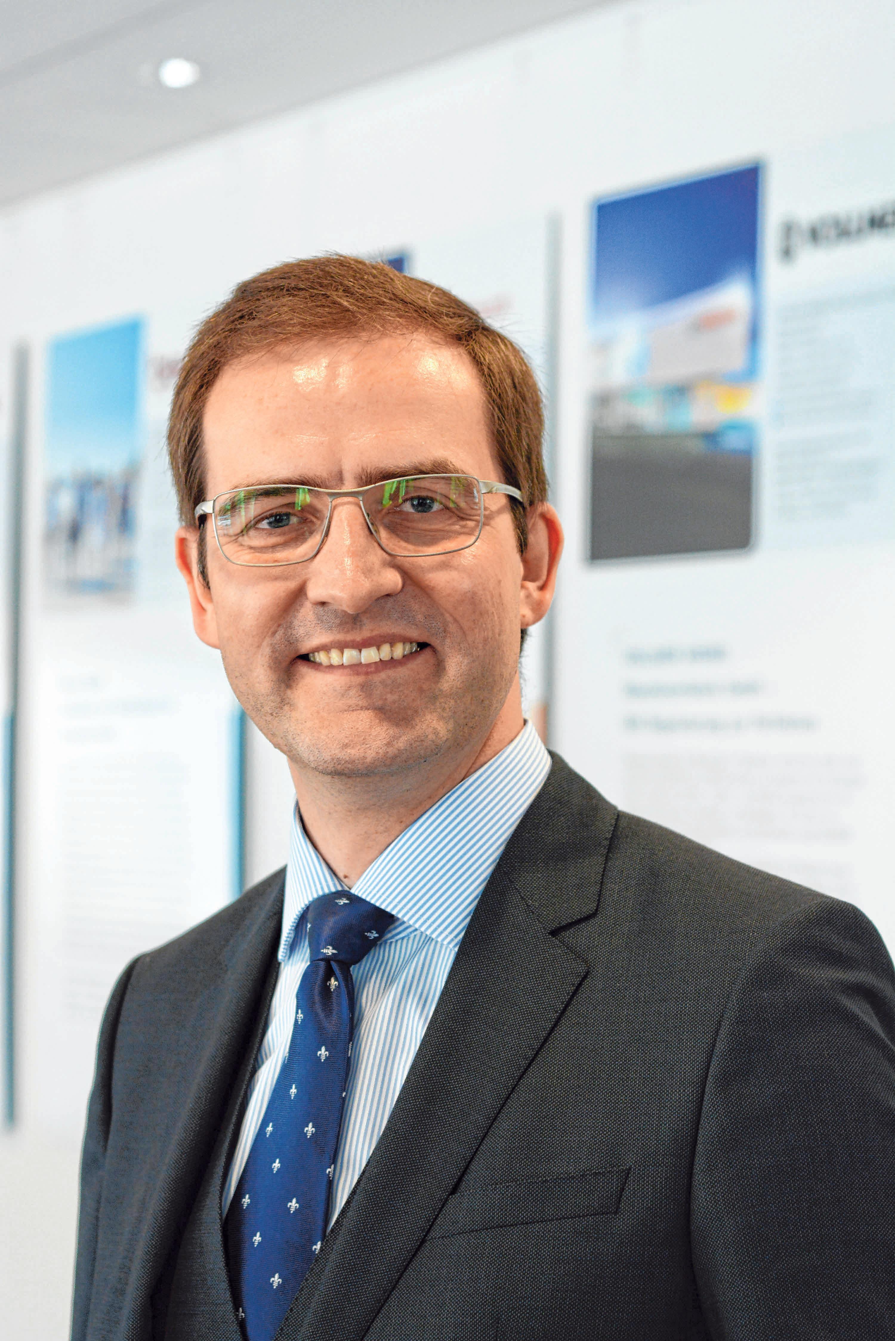 Max-Martin Deinhard, Hauptgeschäftsführer der IHK Ulm, wünscht sich, dass die Gastronomie bald wieder öffnen darf. Foto: Schneider