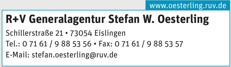 R+V Generalagentur Stefan W. Oesterling
