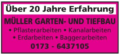 Müller Garten- und Tiefbau