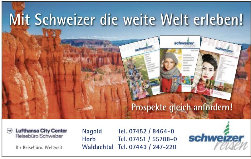Reisebüro Schweizer Lufthansa City Center