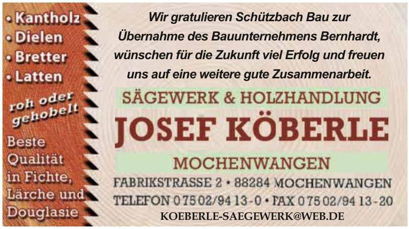 Josef Köberle Sägewerk und Holzhandlung e.K.