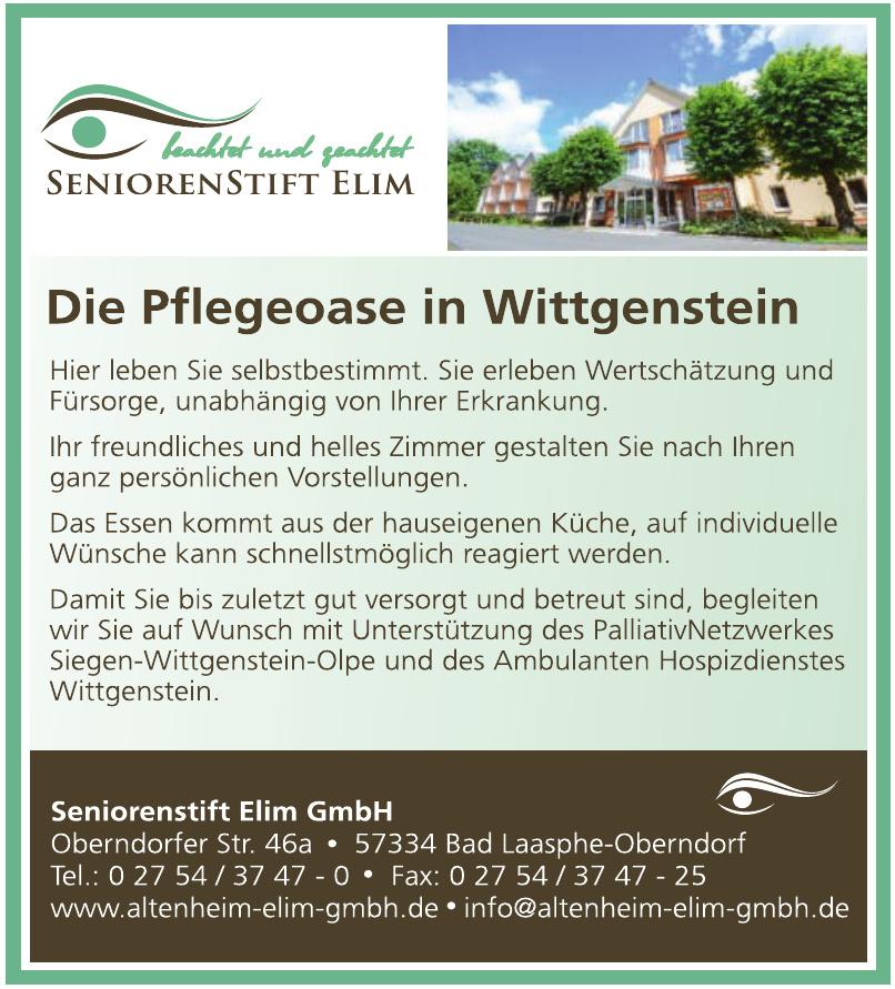 Seniorenstift Elim GmbH