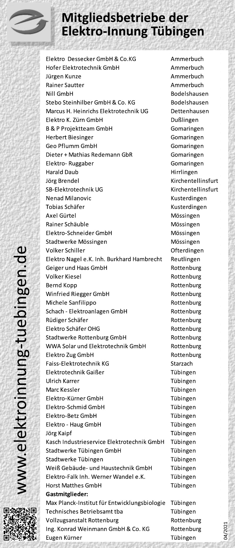 Elektro-Innung Tübingen