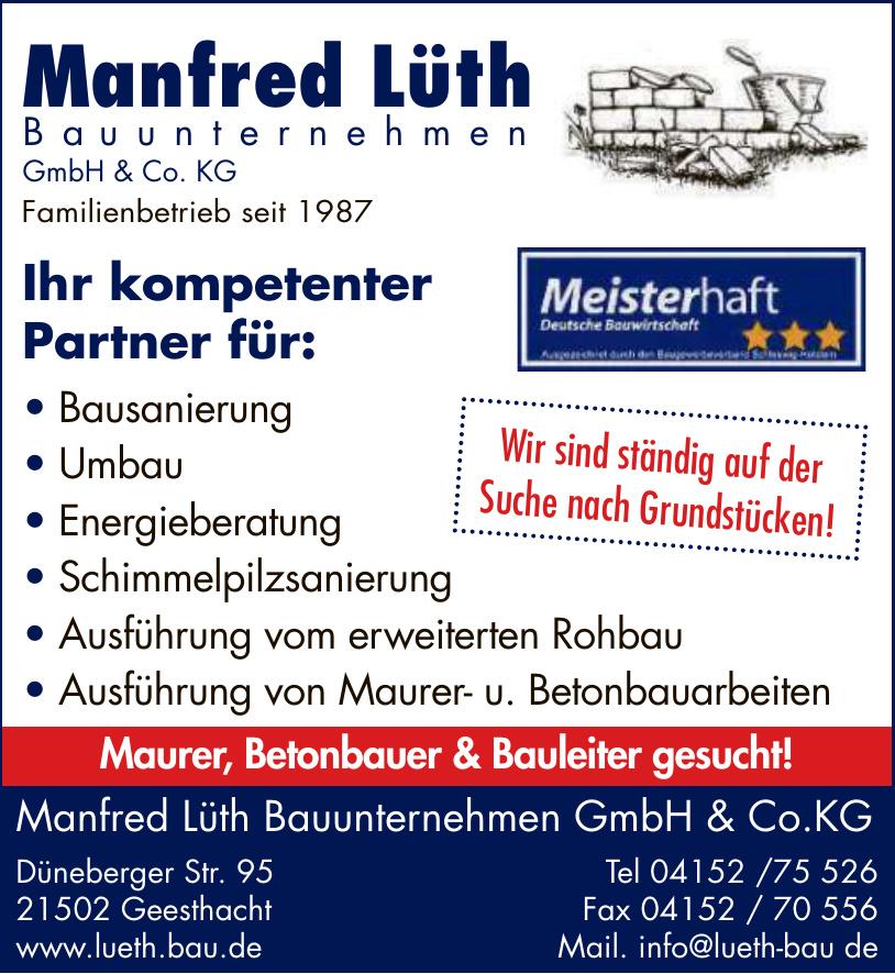 Manfred Lüth Bauunternehmen GmbH & Co. KG