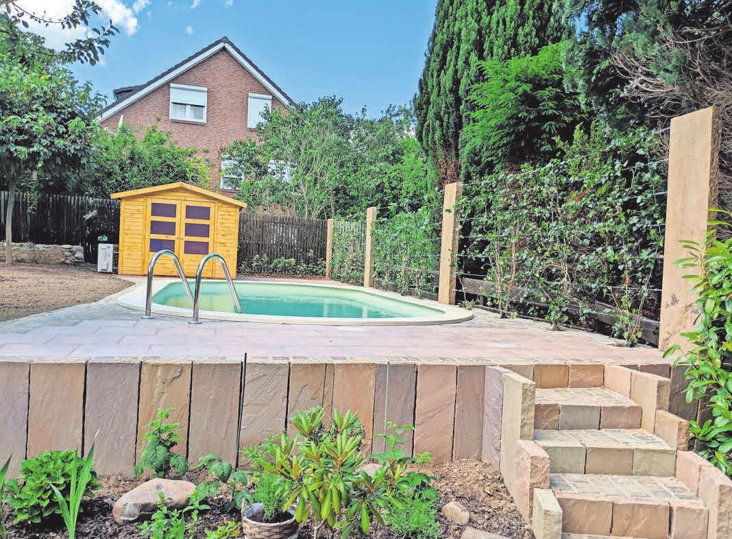 Gartenanlagen der Firma Gruschwitz überzeugen durch Qualität und tolle Ideen. Foto: Gruschwitz
