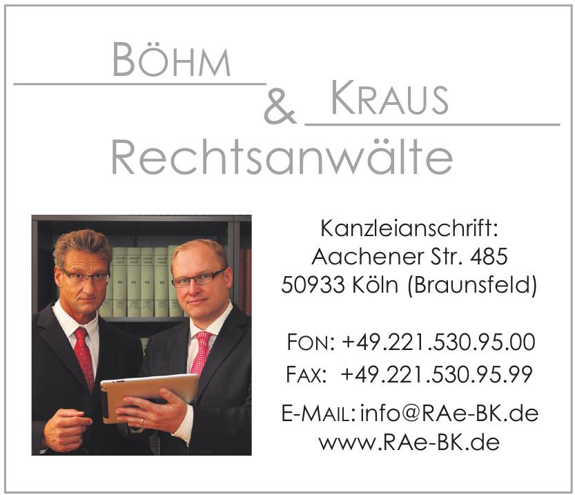 Böhm & Kraus Rechtsanwälte