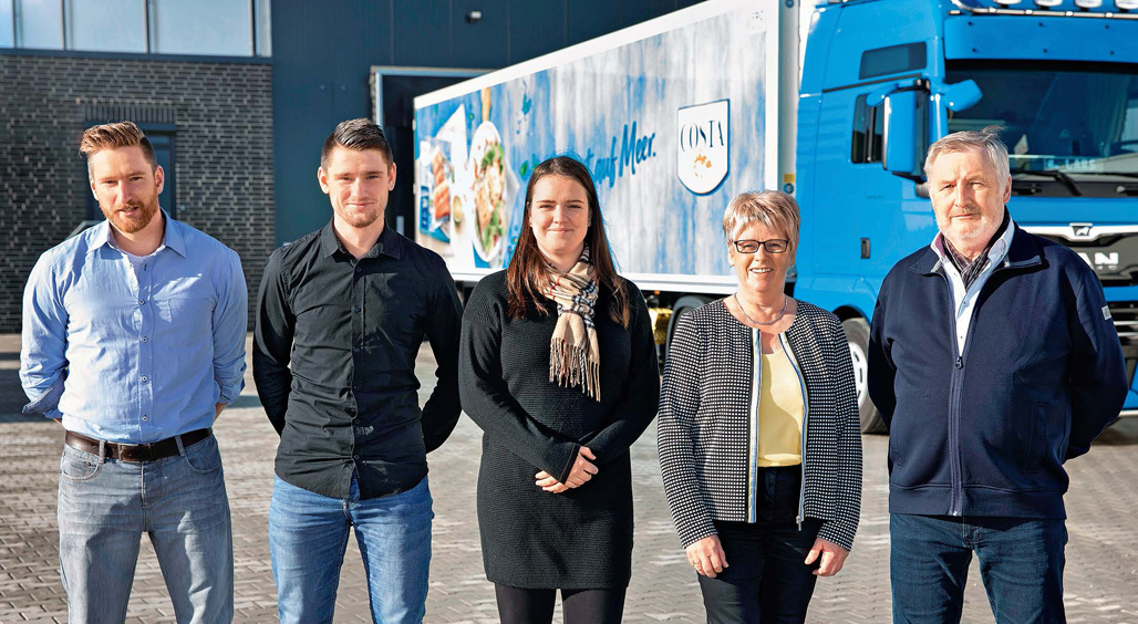 A family business par excellence: all three children have long since been working in the company.