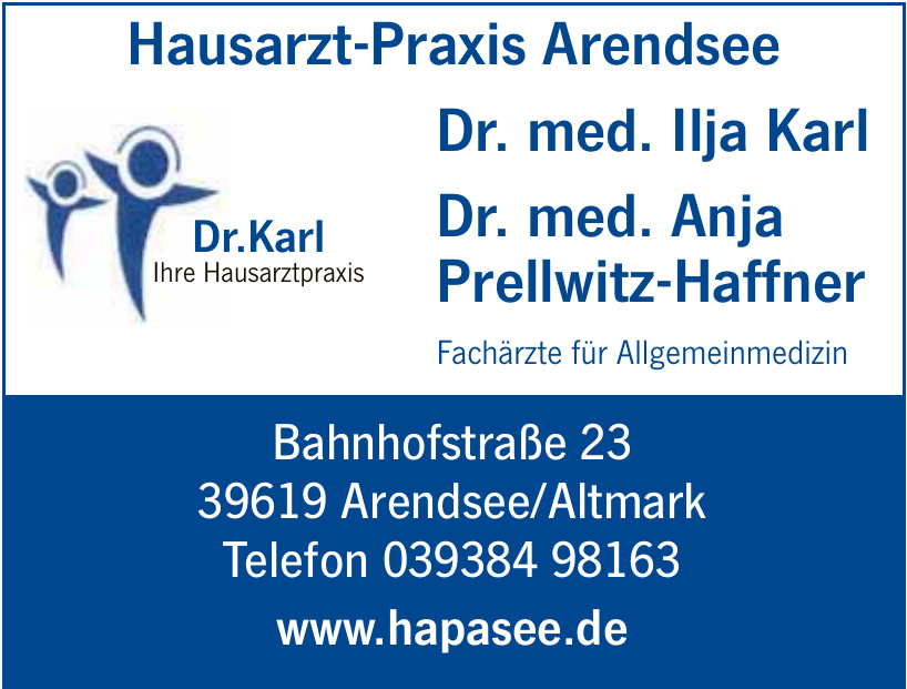 Hausarzt-Praxis Arendsee