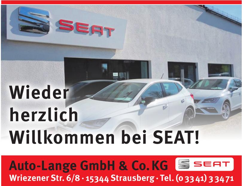 Auto-Lange Gmbh & Co. Kg