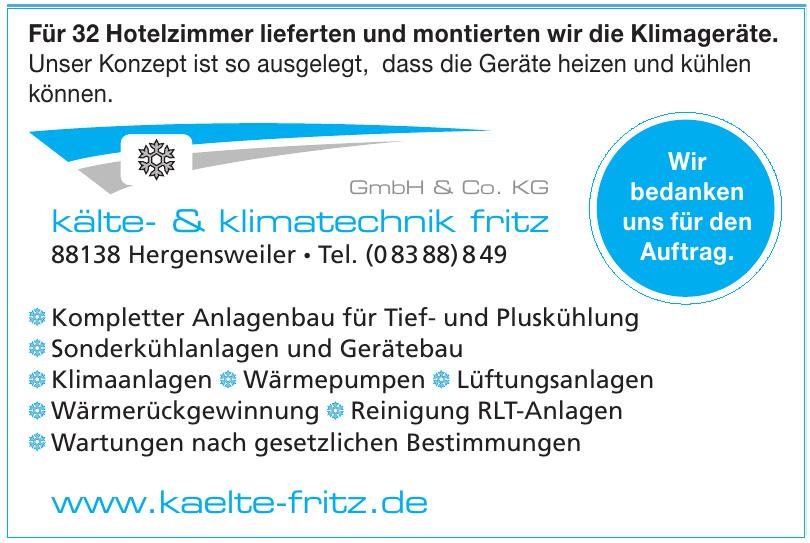 Kälte- & Klimatechnik Fritz GmbH & Co. KG