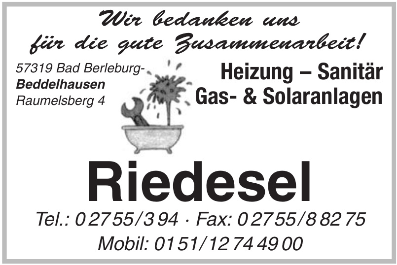Riedesel