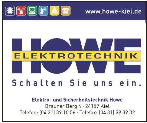 Elektro- und Sicherheitstechnik Howe
